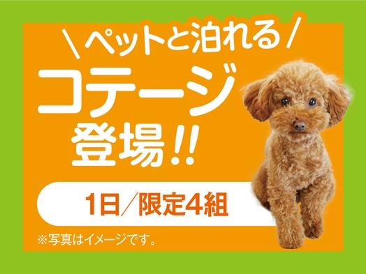 ☆愛犬とお泊り♪☆  1泊2食付ご宿泊プラン
