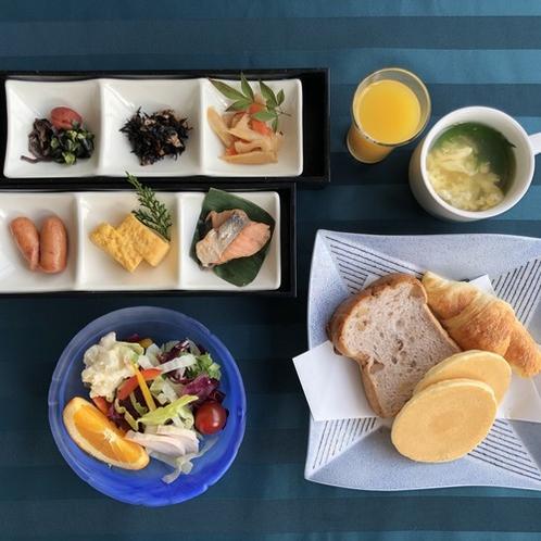 朝食(パン・スープ)