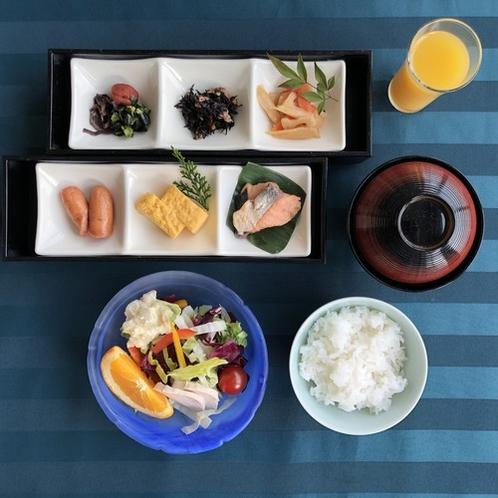 朝食(ご飯・お味噌汁)