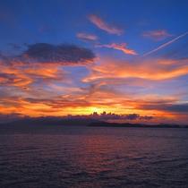 夕陽百選に選ばれる絶景