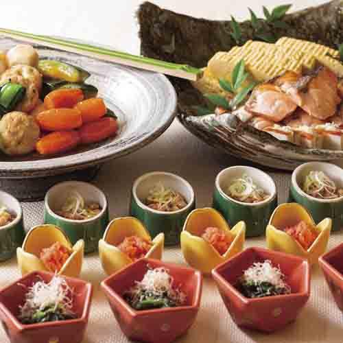 朝食:和洋ブッフェ(和食)イメージ