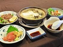 【日替わり定食の一例】八戸の新鮮食材をたっぷり使用しております。