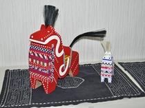 【八戸の郷土玩具】福を呼ぶ馬として有名な八幡馬(やわたうま)