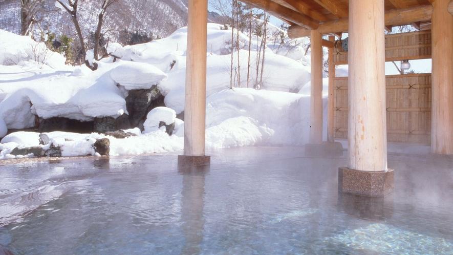 【火あかりの湯】庭園露天風呂・殿方