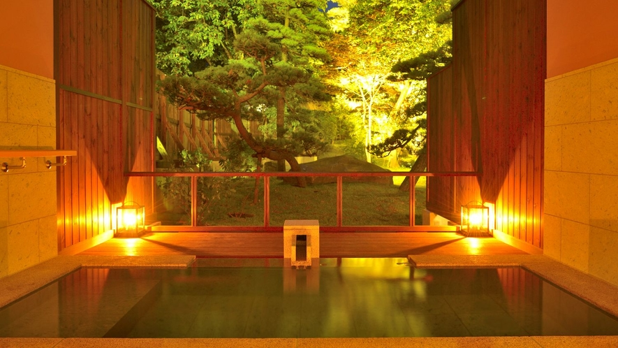【貸切露天風呂】天然温泉100%カンテラの湯