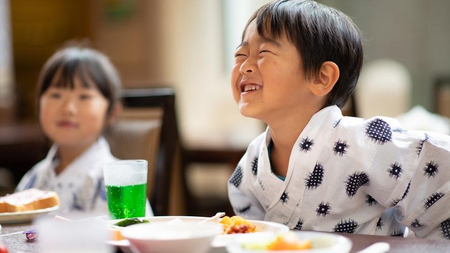 【ご朝食】いっぱい食べて元気いっぱい!