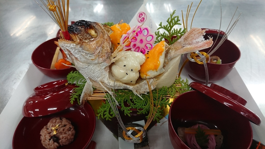【ご夕食】お食い初めなどのお祝い膳のご相談もお気軽に(一例・別料金)