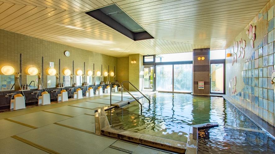 【男性専用】東北では珍しい畳敷きの大浴場