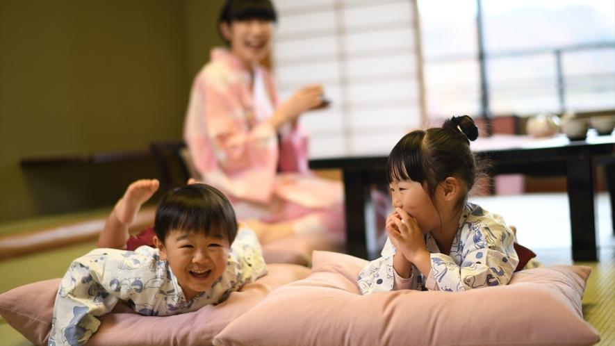 【客室】温泉旅館って楽しい!家族で楽しい想い出作り