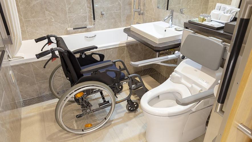 デラックス・ツイン(ユニバーサルデザイン)のバスルーム
