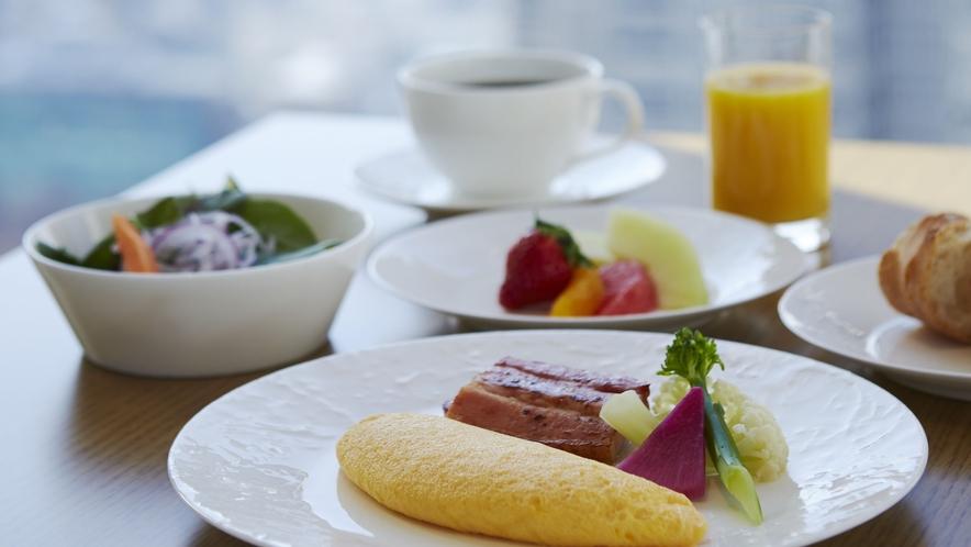 クラブラウンジ 朝食