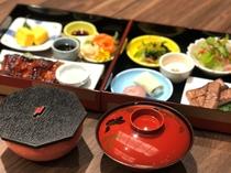 日帰りプランの昼食は「松花堂弁当」をご用意します(※内容変更あり。写真はイメージです)