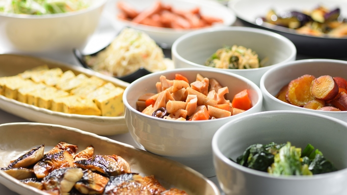 【巡るたび、出会う旅。東北】≪和食バイキング朝食付≫栄養満点の朝食で1日のスタート!駐車料金無料
