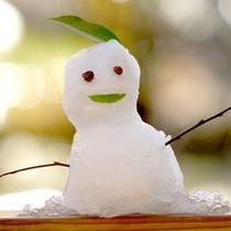 【雪だるま】