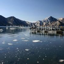 中禅寺湖冬