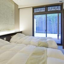 プレミアムスイート701 ベッドルーム