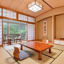 *【海側和室8畳一例】畳のお部屋で旅の疲れをゆっくり癒してください。