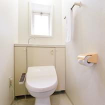 *【ログハウス標準棟一例】トイレ。
