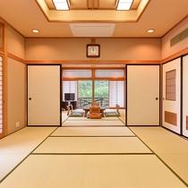 *【和室20畳一例】10畳二間の大部屋でございます。※お部屋にバス・トイレはございません。