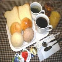 無料朝食♪