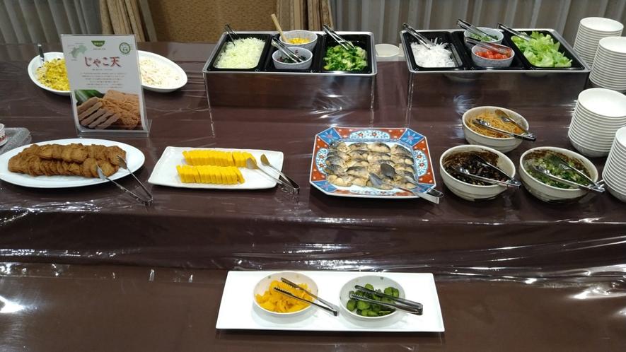 【朝食バイキング!】朝といえば焼き魚!