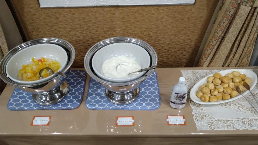 【朝食バイキング!】デザートも大人気!