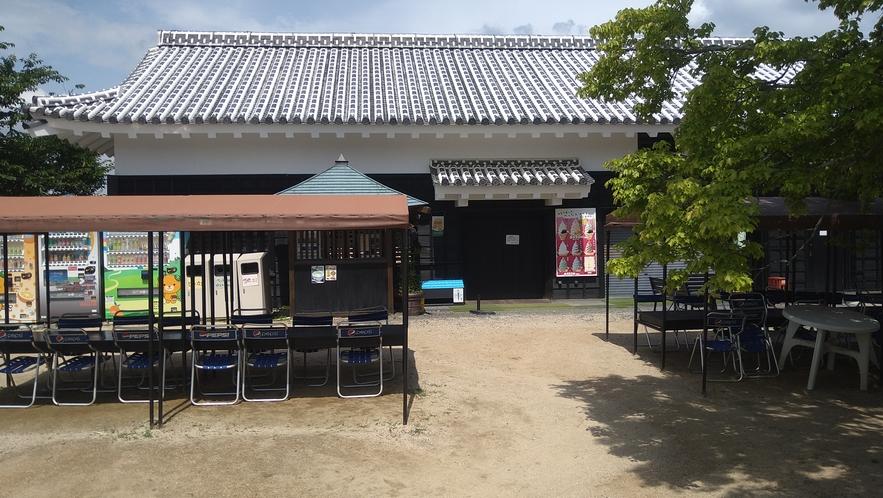 【松山城 休憩所】2時間あればゆったり観光できます