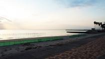 *【当館からの景色】目の前には内海の海が広がります
