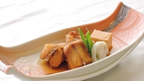 *【ご夕食一例】フグの煮付け