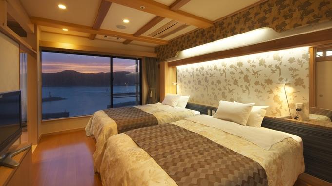 最上階801貴賓室【煌月】で過ごす崇高のひと時を 夕食は料亭【阿うん】でごゆっくり