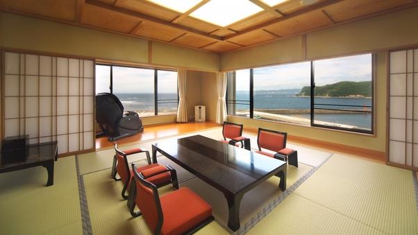 最上階 貴賓室【煌月】和室10畳+広縁+リビング+ツイン