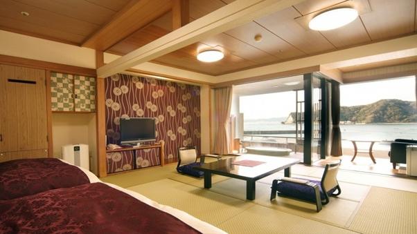 【和室】4階露天風呂付特別室(和室10畳+ツイン)