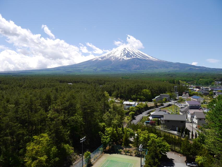 11階からの富士山