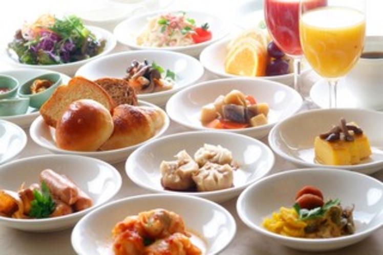 朝食(食材イメージ)