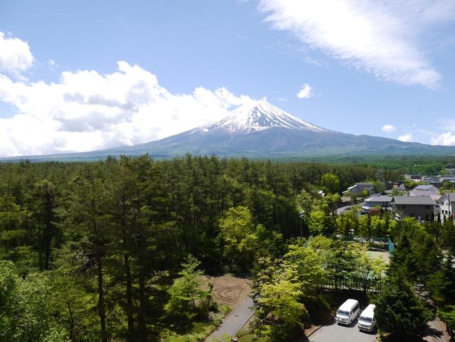 7階からの富士山