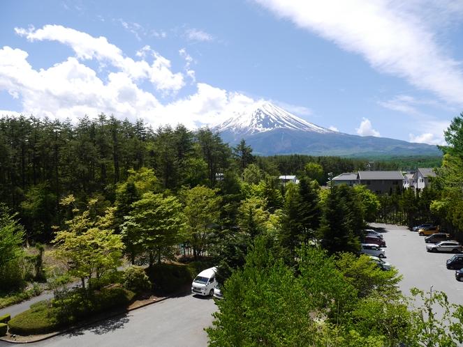 4階からの富士山