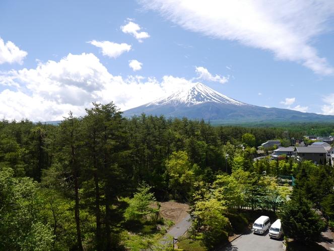 6階からの富士山