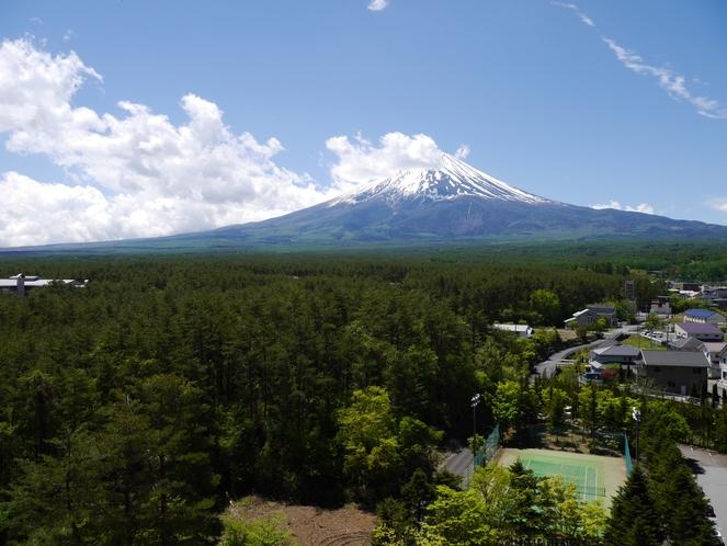 10階からの富士山