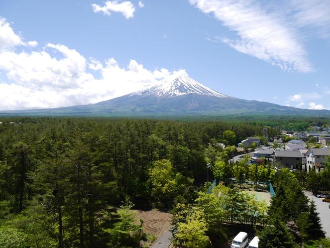 8階からの富士山