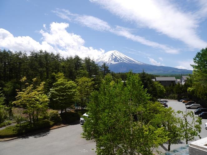 3階からの富士山