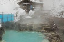 蔵王温泉雪見大露天風呂