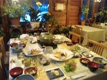 ディナー一例(和食イメージ)