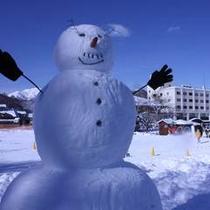 【冬】お客様の作品◆ご希望の方へスコップお貸しします☆