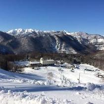 【冬】リフト頂上からは絶景が広がります!!