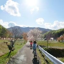 【春】ホテルより5分!おすすめの電動自転車サイクリングコース