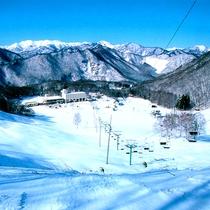 スキー場遠景