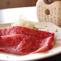 ♦お食事の牛肉は上州牛をご用意♦