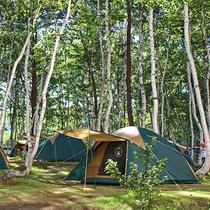 キャンプ&ホテル