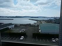 部屋からの景色(海側)