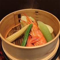 蒸籠蒸し野菜